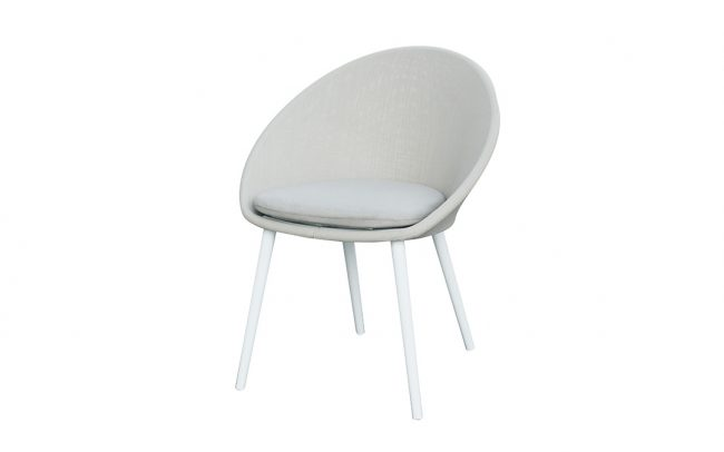 Spade Aluminum/Sling-covered Chair, without cushion