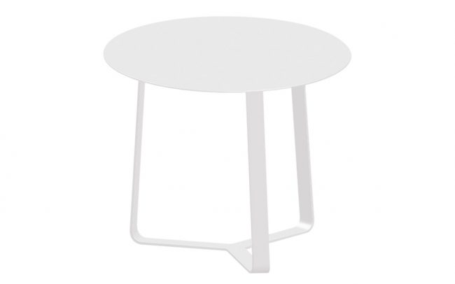 Apollo Aluminum Side Table and Sofa & Coffee Tables